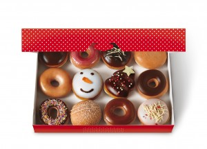 Krispy Kreme Christmas Dozen Bristol Marketing