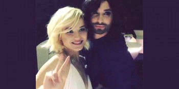 Conchita Wurst Polina Gagarina Eurovision Song Contest Building Bridges