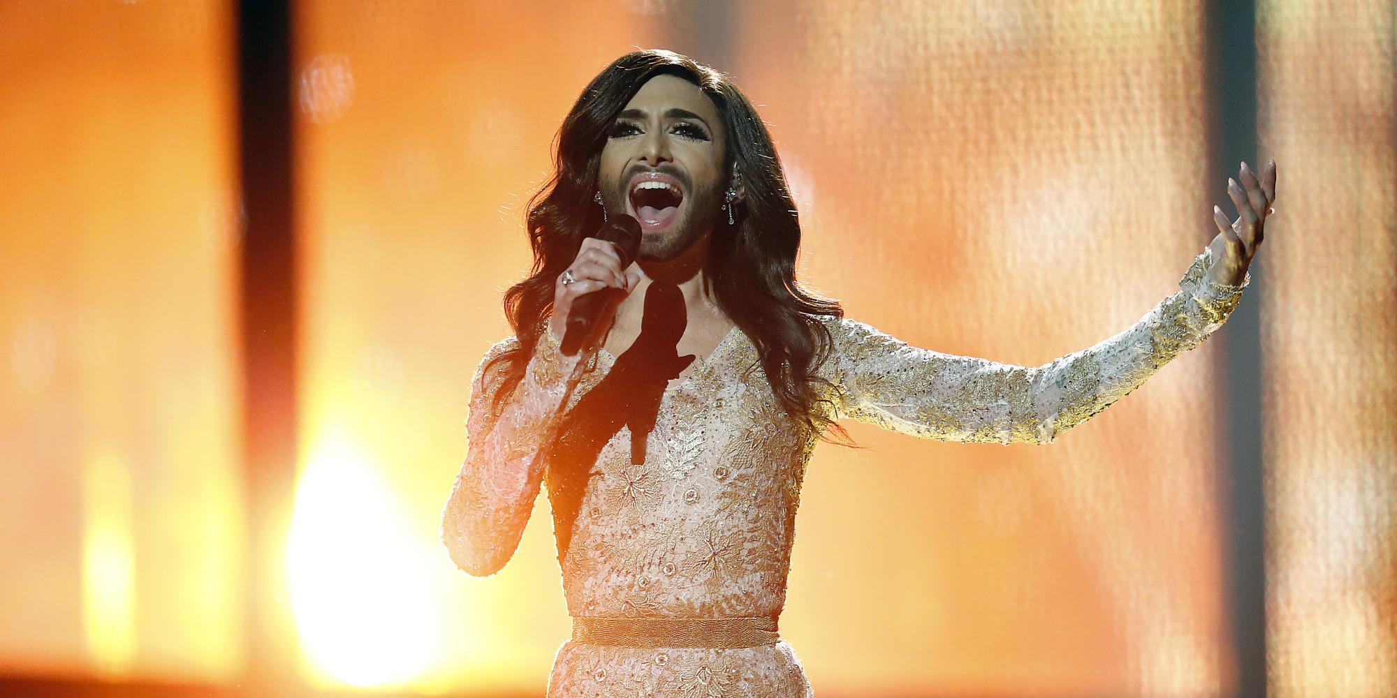 Eurovision Song Contest 2014 Winner Conchita Wurst Austria