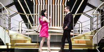 Electro Velvet Eurovision Song Contest 2015 United Kingdom Rehearsal