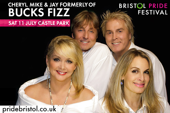 Bristol Pride Eurovision Bucks Fizz