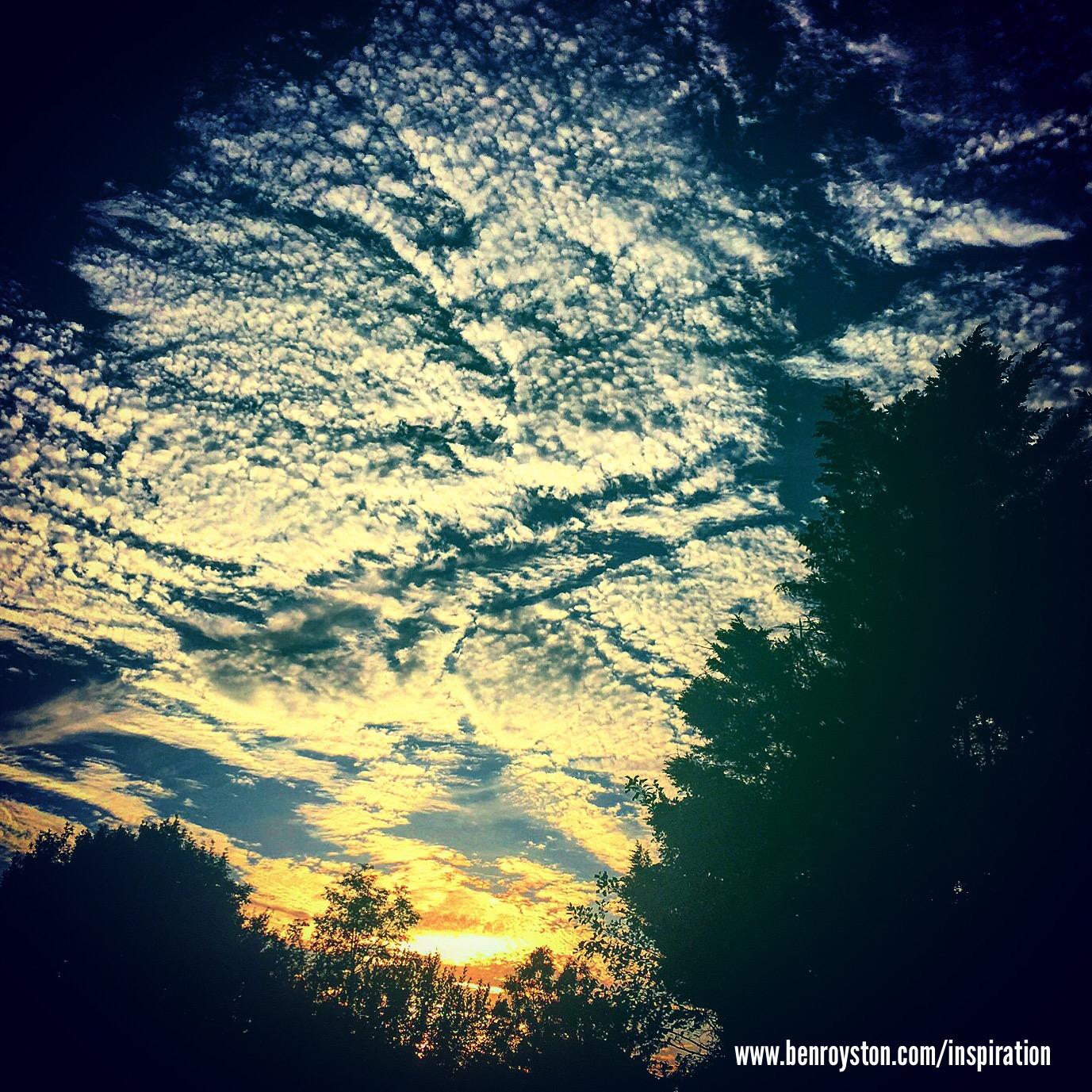 Ben Royston inspiration sunset 2
